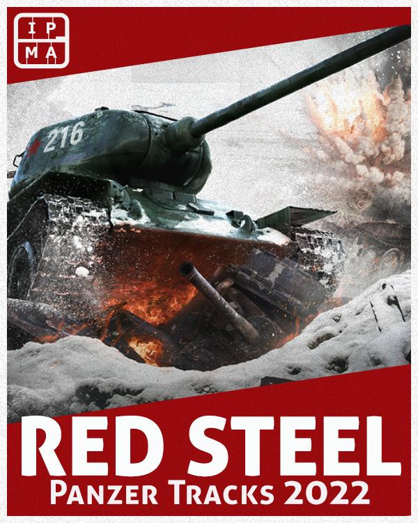 Poster showing T34 crushing things